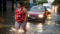 Flash floods hit Buenos Aires