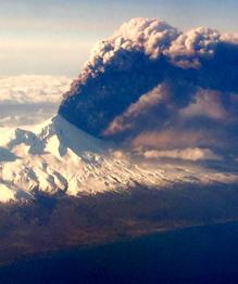 Pavlof volcano erupts in Alaska