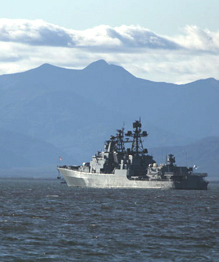 Russia's military force in the Far East