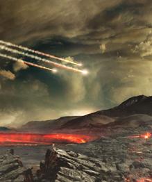 Meteorites terrorizing Earth