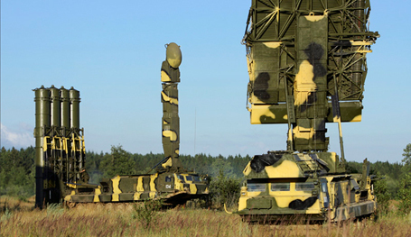 Russian anti-aircraft missile troops