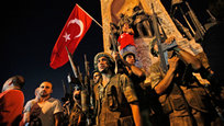 Military coup crushed in Turkey