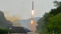 North Korea has launched three ballistic missiles in the direction of the Sea of Japan. According to Japanese media, Kim Jonh-un was personally supervising the launch of the missiles. Japanese Defense Minister Tomomi Inada interrupted her inspections of the Japanese Self-Defense Forces.