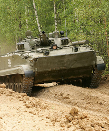 Russia's armored vehicle BMP-3