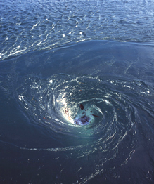 Largest whirlpools in the world
