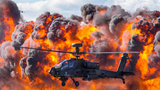 AH-64 Apache has also become the primary attack helicopter of multiple nations