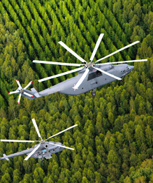 Russian helicopters in all their beauty
