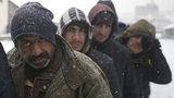 Hundreds of migrants are sleeping rough in parks and make-shift shelters in the Serbian capital in freezing temperatures waiting for a chance to move forward toward the European Union. Hundreds of migrants have remained in makeshift shelters for the past several days braving polar conditions with temperatures way below zero even during the day