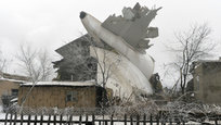 Boeing 747 crashes on village in Kyrgyzstan