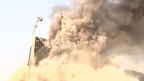 High-rise building collapses in Iran