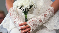 In New York City, top wedding dress designers debuted their Spring/Summer 2014 collections during the semi-annual Bridal Market.