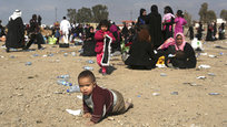 World media do not pay any attention to the humanitarian tragedy in Mosul, Iraq, the Russian Foreign Ministry said. The U.N. says some 160,000 people have been displaced by the Mosul operation. Iraqi forces declared the eastern half of the city  fully liberated  last month, but the militants still hold the entire city west of the Tigris River, and have carried out scattered attacks in the east