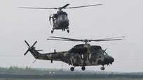 South Korea shows combat helicopters