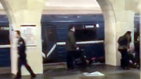 Two explosions occurred on the blue line of the St. Petersburg metro on April 3