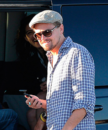 Leonardo DiCaprio finds another top model