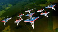 The beauty of man-made flying machines. Made in Russia