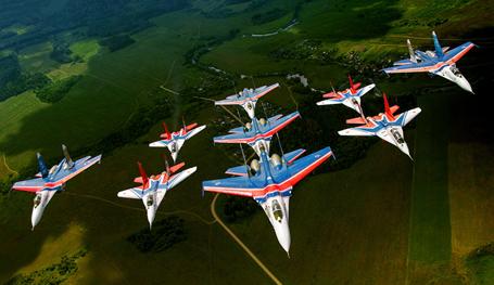 Russian military aircraft in all their beauty