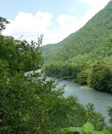 The beauty of Abkhazia