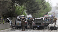 At Least 8 people were killed in the bombing of a NATO convoy In Kabul