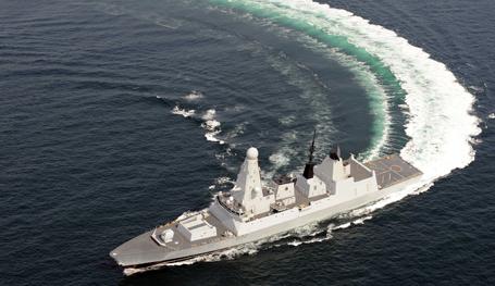 HMS Daring: Killer of Russian submarines?