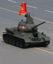 Soviet arms still awe the West