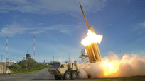 THAAD interceptor in action