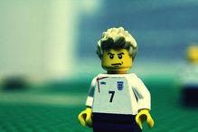 David Beckham immortalized in LEGO