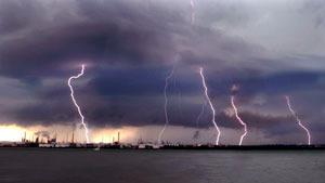 Spectacular photos of lightnings