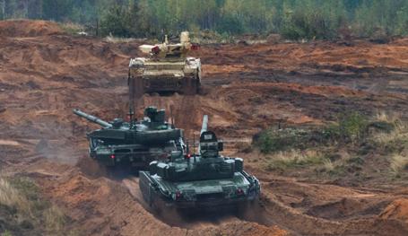 Zapad 2017 military exercise in full swing