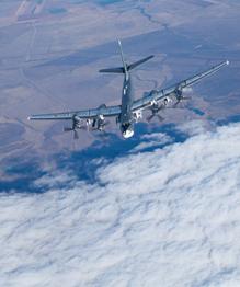 Strategic bomber Tu-95MC, the Bear