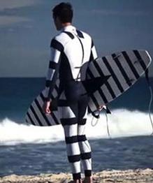 Australians design anti-shark wetsuit
