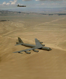B-52. Loaded with bombs