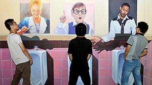 Magic Art exhibition in China
