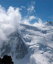 The White Mountain of Mont Blanc