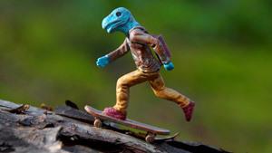 Little dinosaurs by Deivis Slavinskas