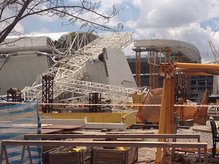 World Cup 2014 stadium collapses in Brazil