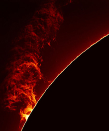 Stunning images of the Sun