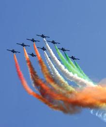 Frecce Tricolori, Italy's aerobatic team