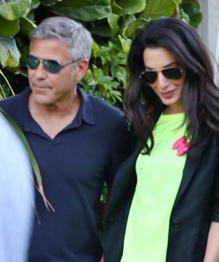 George Clooney sells his soul to Amal  Alamuddin