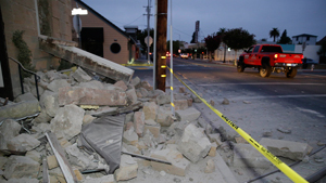 The San Francisco Bay Area's strongest earthquake in 25 years struck the heart of California's wine country early Sunday