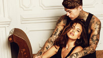 Russian model Irina Shayk and male model Stephen James appeared in a photo session for Spanish brand XTI. In the pictures, Shayk and James are modeling the Fall 2014 collection. Shayk has modeled eight times for the brand.