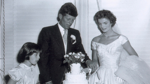 The collection includes 13 original and  most likely  unpublished negatives from John F. Kennedy and Jacqueline Bouvier Kennedy s wedding, according to RR Auction