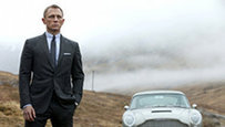 Daniel Craig arrived in Istanbul, Turkey with the cast and crew of the latest James Bond movie  Skyfall  last week. Filming on  Skyfall , which opens in cinemas on October 26, has being going on for more than 100 days in Turkey, England, Scotland and China, and there is still a month to go  All photos: Splash/All Over Press