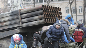 In Kiev, local authorities organized a show of outdated and rusty weaponry in an attempt to prove  facts of Russian aggression  in Ukraine. As a matter of fact, organizers of the show displayed their ignorance