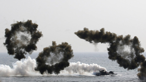 U.S.-South Korea hold joint landing military exercises as a part of the annual joint military exercise Foal Eagle between South Korea and the United States in Pohang, south of Seoul, South Korea