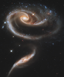 Space through the eyes of Hubble Telescope