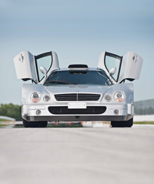 Mercedes supercar up for grabs