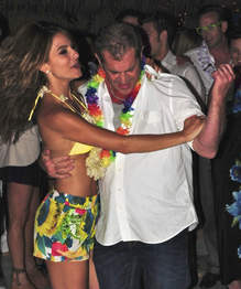 Mel Gibson and his Italian muse