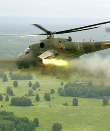 Russia s Mi-24 Battle Helicopter