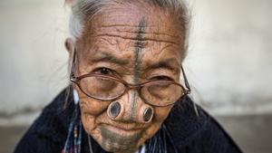 Disfigured beauty of tribal women